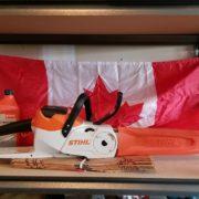 STIHL Canada Flag