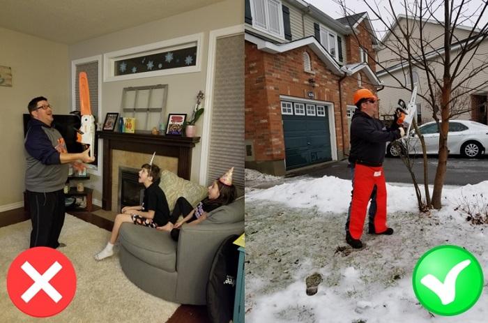 STIHL Canada Juggling